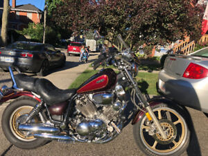 Yamaha Virago 750 Cruiser, Excellent condition, must see.