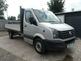 image for 2016 Volkswagen Crafter 2.0 CR35 TDI C/C DROPSIDE L BMT 138 BHP CHASSIS CAB Dies
