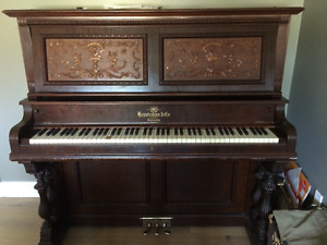 antique 1896 piano  Heintzman