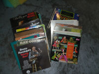 OVER 70 OLD LP RECORDS $5 FOR THE WORKS