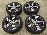Genuine Vw Golf R alloy wheels