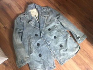 Ralph Lauren vintage look jean jacket - XL - $20