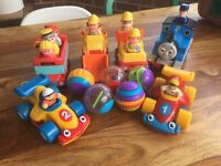Kids toy bundle, Thomas the tank and little people etc