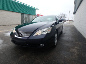 2009 Lexsus ES350_CLEAN_ONE OWNER_NO ACCIDENT_BLUE ON TAN