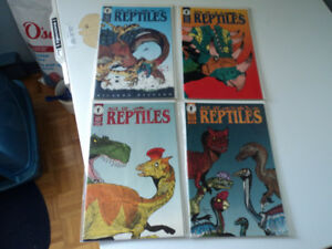 3 SERIES OF DINOSAURS COMICS