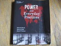 Sociology Text: Power and Everyday Practices