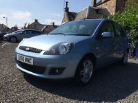 2006 FORD FIESTA GUIA 1.4cc LEATHER INTERIOR 74.000 MILES MOT UNTIL JULY 2017