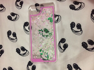 iPhone 5/5s Case - Water Case With Glitter