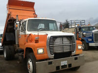 Dump Truck For Hire. Small Loads Delivered or Disposed.