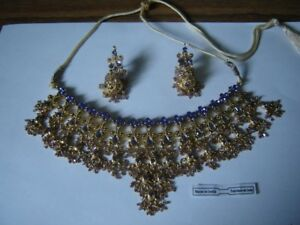 NECKLACE AND EARING SET (INDIA)