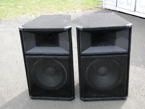 Peavey Speakers SP2 Pair they sound great