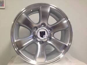 4x4 WHEELS MACHINE SILVER,suit Colorado, TOYOTA Hiace, Hilux Melbourne CBD Melbourne City Preview