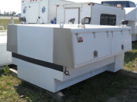 Used 8' box Boden Slide-in Service Body Red Deer Alberta Preview