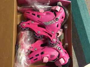 Barbie roller blades/ice skates  8-11 adjustable size