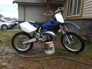 Yz250 two stroke