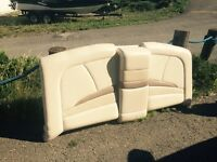 Found rear boat upholstery