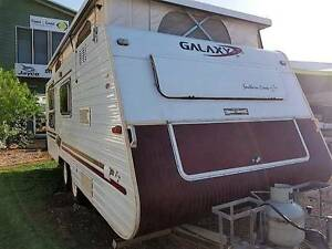 2002 Galaxy Pop Top Tandem Axle Air Conditioned Large Seating Knuckey Lagoon Litchfield Area Preview