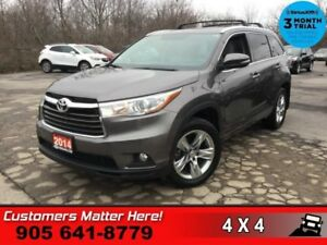 2014 Toyota Highlander Limited  AWD NAV CS/HS PANO-ROOF CAM 7-PA