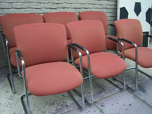 6 Steelcase Guest Chairs