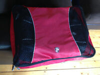 Heys packing cubes plus toiletry bag and shoe bag.
