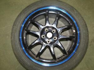 JDM LM Sport Wheel 5X100 Rim 17X7.5J  50ET Subaru WRX Spec