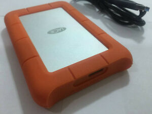 Lacie 1tb Rugged USB Drive $60