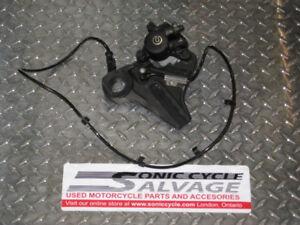 2011 bmw s-1000rr rear brake caliper and hanger oem