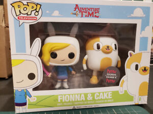 Adventure time funko pop Fiona and cake pack HMV exclusive