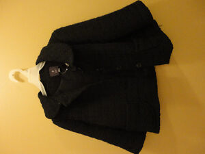 Women's Forever 21 black coat jacket Size Small New with tags London Ontario image 2