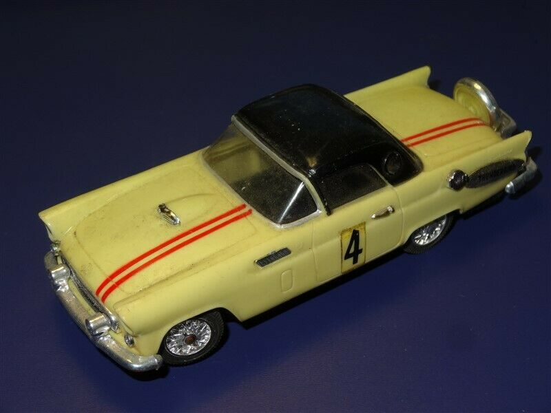 Vintage 1960s Ideal 1956 Thunderbird Motorific Racerific Series Slot Car