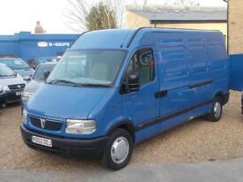 Vauxhall Movano 2.5DTi LWB High Roof 3.5t