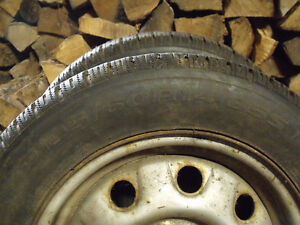 2 x P195/60R14 Winter King Winter Tires & Rims Kawartha Lakes Peterborough Area image 4