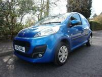 PEUGEOT 107 998cc active 2013 Petrol Manual in Blue
