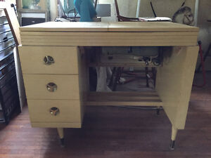 Antique Folding Sewing Machine