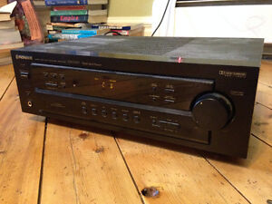 Pioneer VSX D307 Receiver.  5.1 Channel, 100watts.  Works great!