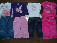 12 month girl clothes whole lot
