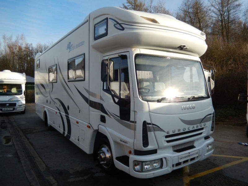 rs racecruiser luxury large rear garage race motorhome