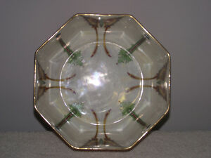 Vintage DUCAL Crown Ware Octagonal Butterfly Bowl Kingston Kingston Area image 4