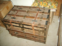 100 year old antique box