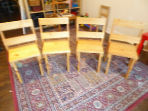 4 Custom Made Children's Chairs