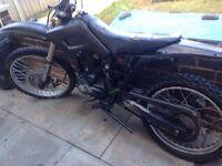 125 4 stroke motorbike not CR YZ KX