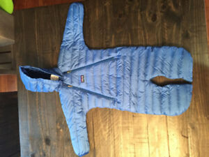 Patagonia Infant one Piece Winter Suit - Size 6 months