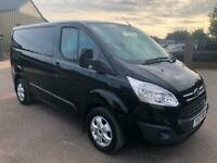 2017 Ford Transit Custom 2.0 TDCi 130ps Low Roof Limited Van SWB EURO 6 75000 MI