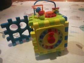 Little tikes activity cube