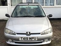 £500 Peugeot 106 QUICKSILVER 1.4 LIMITED EDITION!!