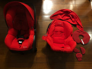 Maxi Cosi Mico AP with extra seat cover and canopy