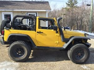 08 Jeep Wrangler for sale or trade