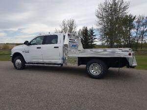 2018 Dodge Ram 3500 SLT Crew Cab 4x4 Aluminum Deck