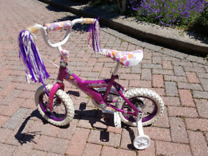 Kids bicycles and trike