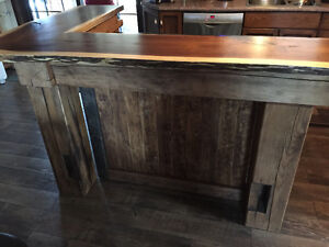 hand crafted timber frame islands and bars Cambridge Kitchener Area image 4